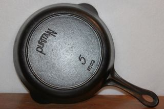 Griswold Sears & Roebuck Puritan No.  5 P/n 1502 Cast Iron Skillet Heat Ring Erie photo