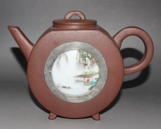 Chinese Yixing Teapot Handmade Crafts Teapot 151027 photo