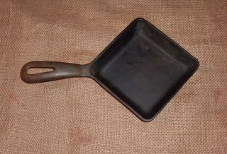 Vintage Cast Iron Griswold Small Square Egg Skillet No.  53 - 4 5/8