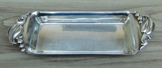 (1) Webster Sterling Silver Butter Dish,  90.  5 Grams, photo