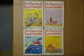 7 Issues Of Electrical Experimenter 1917 photo