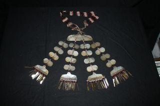 Isneg Apayao Igorot Philippines Chest / Neck Mother - Of - Pearl Ornament