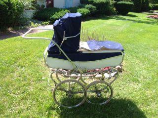 Vintage Lloyd Baby Pram/carriage/ Or Restoration/local Pickup Mich photo