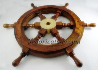 Wooden Ship Wheel Indian Rosewood Made Shipwheel Wall Decor Ship Wheel photo