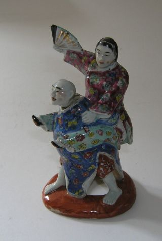 Rarity.  Antique Chinese Nodding Figurine Statue: