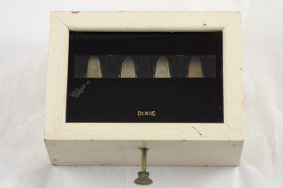 Antique 1872 Dixie Edwards Annunciator Butler Servants Victorian Signal Call Box photo