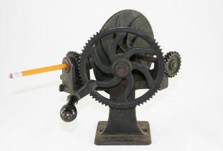 Antique Gould & Cook Gem Pencil Sharpener/pointer,  Sandpaper,  Ca.  1886,  Ex Cond. photo