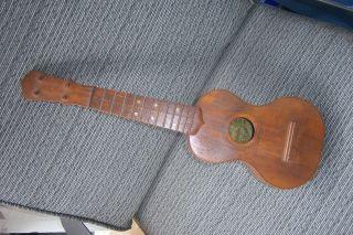 Scarce Pre 1930 ' S Conservatory Quality Ukulele Fancy Inlaid Fresh Find photo