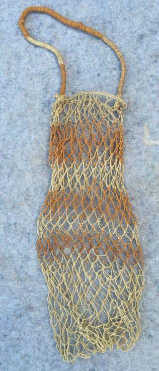 Vintage Aboriginal Handwoven String Bag photo