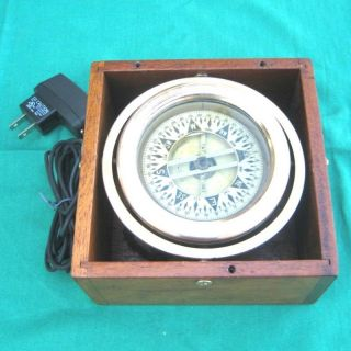 Compass & Case - Early 1900s 4¼