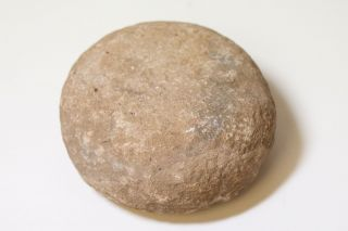 Rare Ancient Hawaii Ulumaica Game Stone - Exceptional Shape & Quality photo