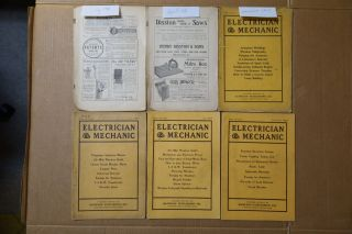9 Issues Of Electrician & Mechanic 1908 And 1909 photo