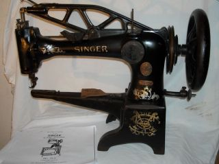 Singer 29 - 4 Cobbler Sewing Machine Industrial Leather Heavy Duty Walking Foot photo