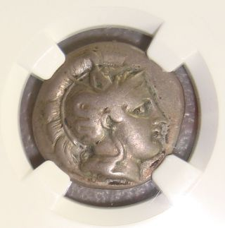 410 - 350 Bc Lucania,  Thurium Ancient Greek Silver Stater Ngc Choice F Fine Style photo