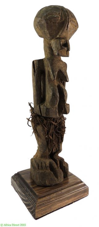 Songye Female Power Figure Nkishi Congo Africa photo