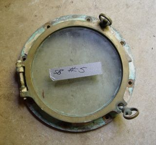 Vintage Brass Porthole,  Treasure Hunting Ship,  Arctic Discoverer,  Tommy Thompson photo