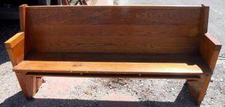 Church Pew - All Solid Wood - 69 1/4