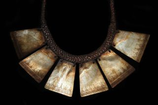 Ifugao Igorot Mother - Of - Pearl Necklace
