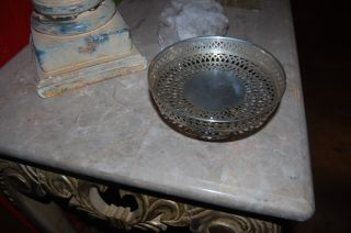 Sterling Silver Bowl - Ssmc 075 Marked Sterling - Nr - photo