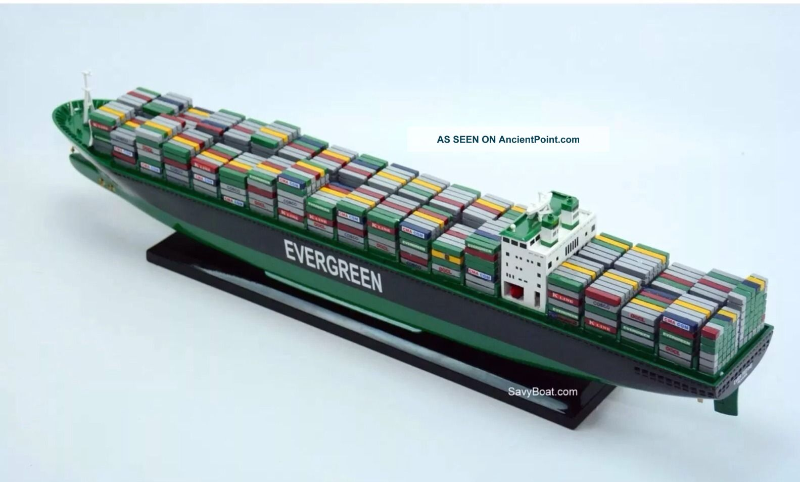Evergreen Container Ship Model 28