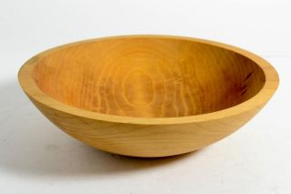 Tree Spirit Wood Dough Bowl 12