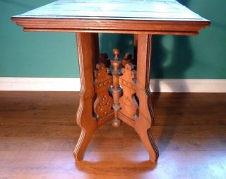 Antique End Table 1850 To 1890 28.  5
