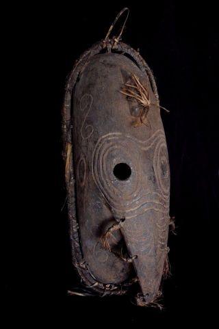 Long Nose Low Sepik Mask – Large - Pre 1960's photo