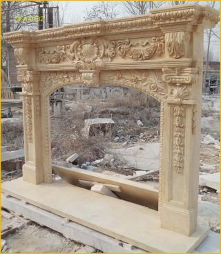 Fromfactorytou Customize Your Own Size Marble Fireplace Mantel @pls Ask Price@ photo