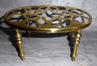 Antique Solid Brass English 4