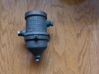 Brass Fuel Filter,  Antique photo