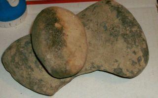 Indian Artifact Grinding Lap Stone Mortar Pestle Metate & Mano 5