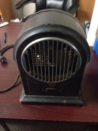Vintage Sunbeam Art Deco Space Heater. photo