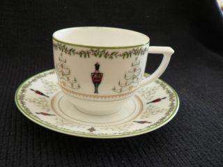 Limoges Berardaud Grenadiers Demitasses Tea Cup Saucer photo