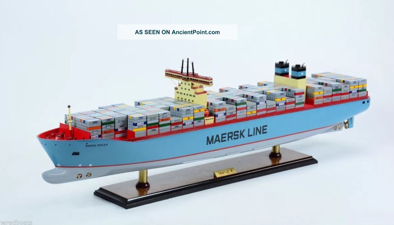 Maersk Triple E Class Container Ship 36