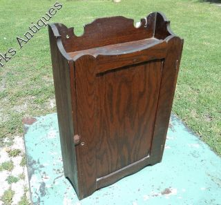 Kaufman Family Medicine Cabinet 1800 ' S Cabinet By Spencer (oak) Apothecary photo