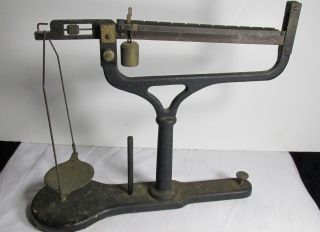 Antique Scale Early Weighs In Grams photo