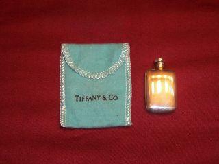 Vintage Tiffany & Co Sterling Silver 925 Flask Perfume Bottle No Monogram photo