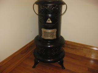 Vintage Perfection Kerosene Heater 525 For Use Or Display Chained Fill photo