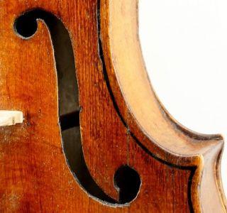 Very Old And Interesting Antique 18th Century Violin - Paolo Antonio Testore photo