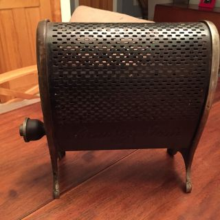 Antique Lawson Metal Gas Heater No.  1,  Space Heater,  Gem,  Ornate photo