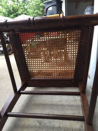Antique Vintage Wooden Chair Rare photo