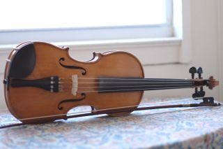 Stradivarius Viola West Germany Handmade Pfretzschner 1968 Full Size,  Bow,  Case photo