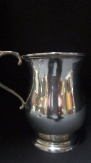 Antique Tiffany & Co.  Grosjean & Woodward Sterling Silver Tankard Ale Mug photo