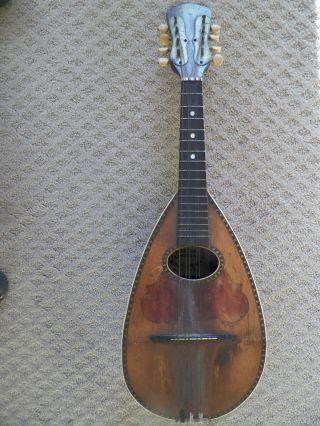 Antique Bauer Co Mandolin photo