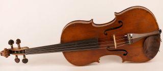 Fine Old Violin Labeled Soffritti 1910 Geige Violon Violino Violine Viola Fiddle photo
