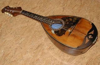 Vintage Master Mandolin Calace 1912 - - Plays And Sounds Great photo