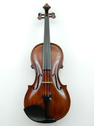 Old 4/4 Violin Labeled: Carl Bernhard,  Stadthagen photo