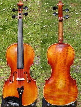 Vintage Czech Violin - J.  B.  Herclik,  Mlada Boleslav.  Powerful & Brilliant Sound photo