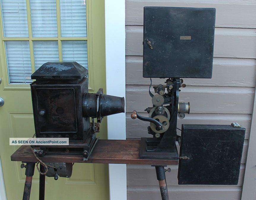 Antique Theater Thomas Edison Kinetoscope Model B Silent