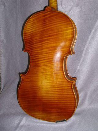 Wonderful Fine Master Viola By Hans HÖllinger - Kiel/ Germany About 1940s photo